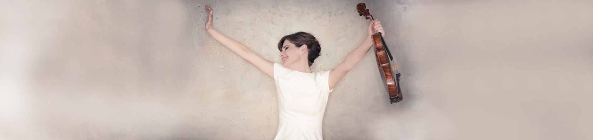 Lisa Batiashvili, violin soloist for Orpheus Chamber Orchestra