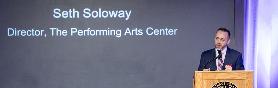 Seth Soloway, Director of The Performing Arts Center