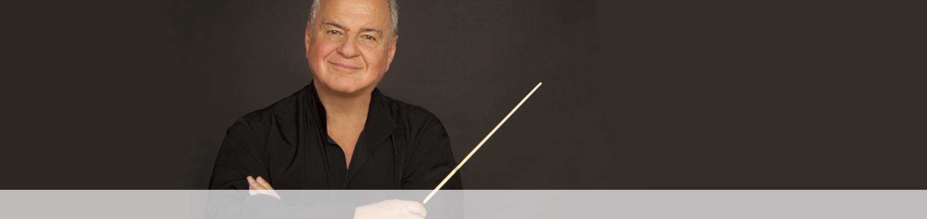 Jaime Laredo, conductor, Westchester Philharmonic