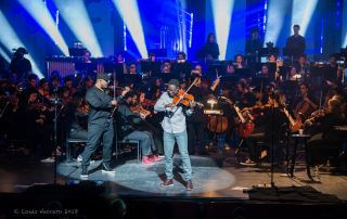 Black Violin and orchestra