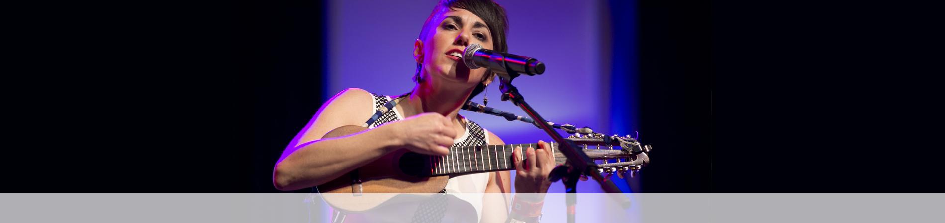 Gina Chavez live at the Austin Music Awards