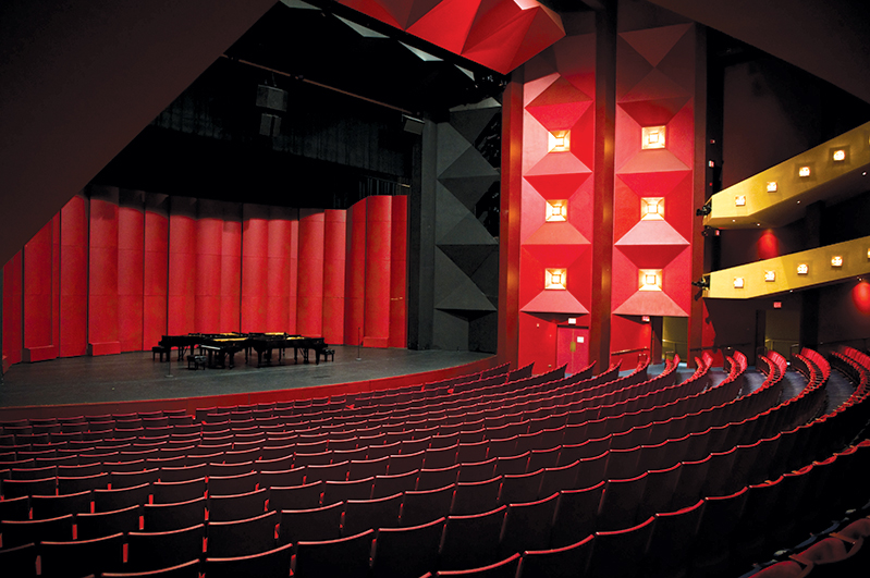 The Performing Arts Center Concert Hall
