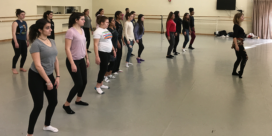 PAWS: Performing Arts Workshops for Secondary Students