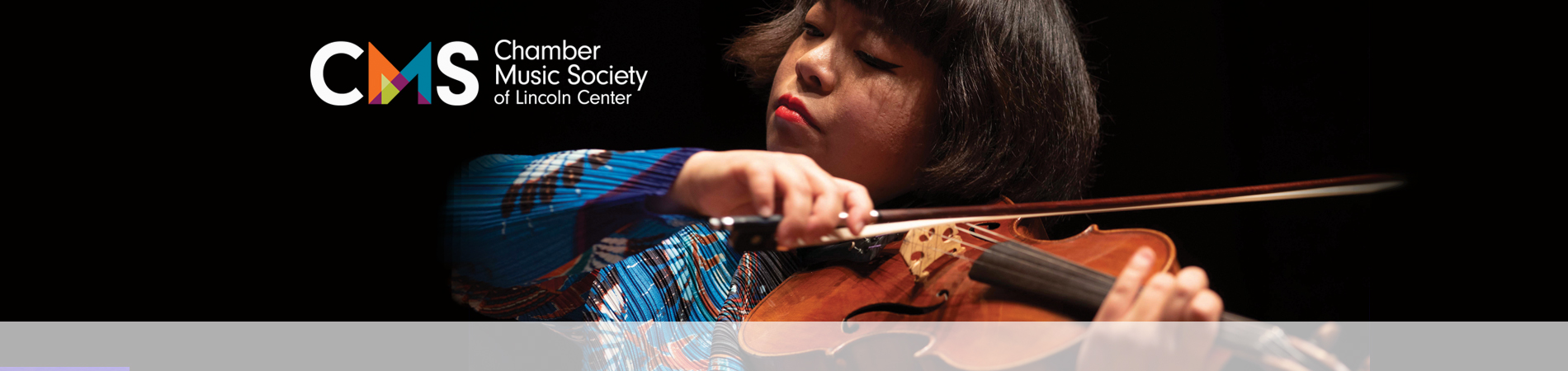 Violinist Yura Lee, Chamber Music Society of Lincoln Center