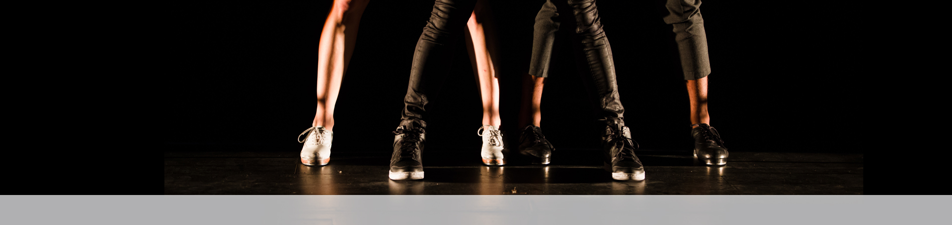 Dance image - legs with tap shoes