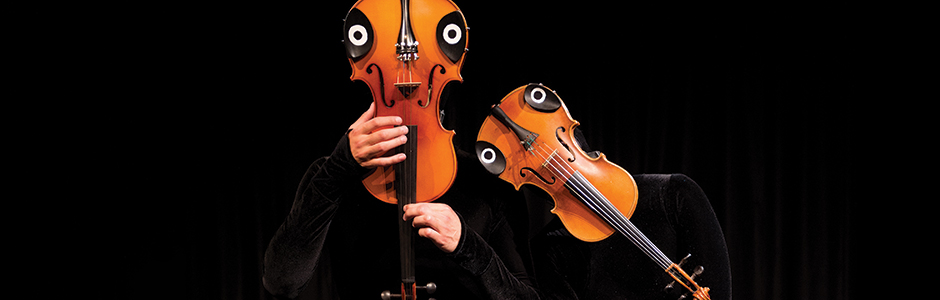 Mummneschanz violins