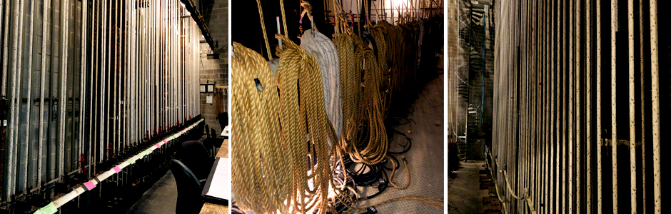 Fly system ropes