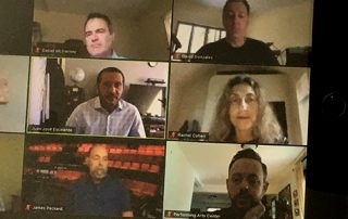 Screen shot of zoom meeting