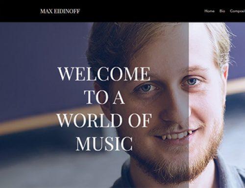 Max Eidinoff: Quarantine Music