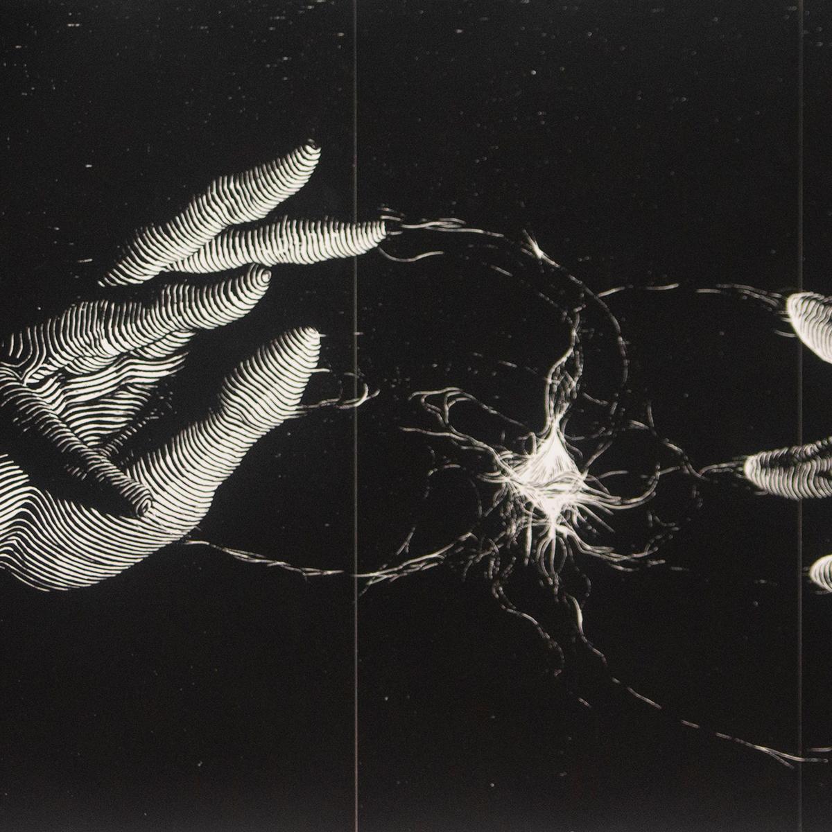 "Isaiah Rivera ""Genesis - Screenprint Version"" (detail)"