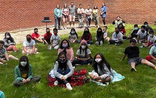 Storyseekers Hillcrest Elementary School students