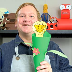 The Mermaid Workshop puppeteer Jim Morrow