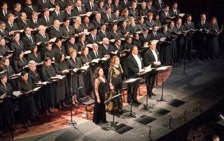 Metropolitan Opera chorus and soloists